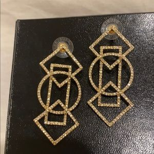 Geometric earrings baublebar  stunning nwot